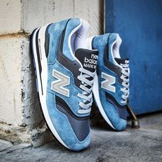 We just added the New Balance Made in USA 997 Age of Exploration in Blue to our webstore! | SoleHype.com #Solehype