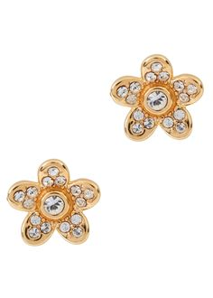 505509f78 Marc Jacobs Bags, Watches, Dresses, Perfume. Marc Jacobs gold tone stud  earrings Crystal-embellished ...