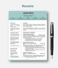 Office Secretary Resume Templates  Resume Design  Secretary