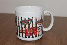 Mardi Gras  New Orleans Masks Coffee Mug Cup
