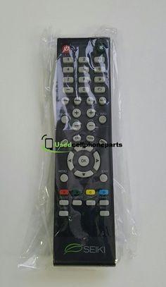 SEIKI TV REMOTE CONTROL 845-045-03B01 FOR MOST SEIKI TV'S Tv Remote Controls, Smart Tv, Tvs, Tv