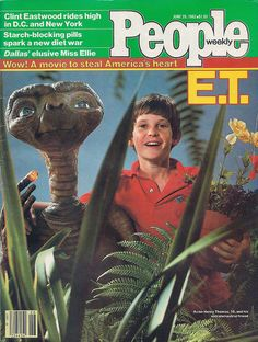 E.T. The Extraterrestrial People Magazine, 1982 by kerrytoonz, via Flickr