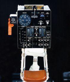 Actual control panel Apollo 15 LRV