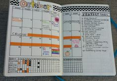 The monthly spread from this Bullet Journal is fantastic! I like that it's a regular calendar so I can pull information from it quickly since it's a known format. There's still room for those monthly to-dos and having the monthly habit tracker on the same page is interesting, although I'm leaning toward giving that its own page.