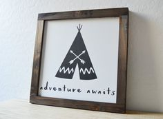 Hey, I found this really awesome Etsy listing at https://www.etsy.com/listing/255408708/adventure-awaits-a-hand-painted-black