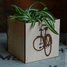 Кашпо `Велосипед`