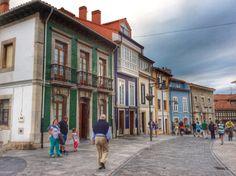 Luanco, villa marinera en la Costa del Cantábrico. #Asturias #España #cabopeñas #casaspradina #casarural www.casaspradina.com