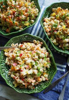 You searched for pastasalat - Mat På Bordet Salad Recipes, Healthy Recipes, Healthy Food, One Pot Wonders, Dere, Fried Rice, Cobb Salad, Nom Nom, Salsa