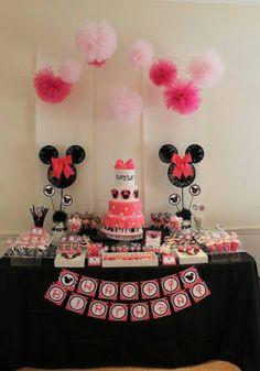 15 idées déco anniversaire Minnie
