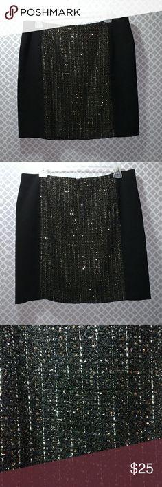Ann Taylor Loft Black Skirt Ann Taylor Loft black skirt, Size 18T (tall) Curvy Ann Taylor Skirts