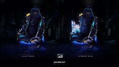 DX-2V02 Racer Chair, Jonathan Lucero on ArtStation at https://www.artstation.com/artwork/XaAWa