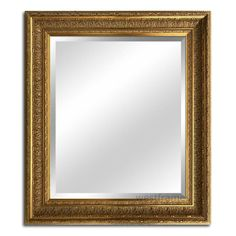 West Frames Elegance Ornate Embossed Wood Framed Wall Mirror x Antique Gold) Gold Framed Mirror, Ornate Mirror, Wall Mounted Mirror, Beveled Mirror, Wall Mirror, Framed Wall, Wood Picture Frames, Picture On Wood, Frames On Wall