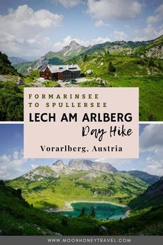 Find out how to hike from Formarinsee to Spullersee in the Lechquellen Gebirge in Vorarlberg, Austria. This day hike from Lech am Arlberg will enchant you from the very beginning to the very end.   #austria #austrianalps #vorarlberg #lech #lechamarlberg #lechquellen #lechquellengebirge #alps #hiking #dayhike #europehike #travelaustria #visitaustria #mountainhike Visit Austria, Austria Travel, Mountain Hiking, Innsbruck, Top Destinations, Day Hike, Alps, Travel Around, Travel Guides