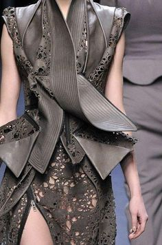 Haider Ackerman- Mixing Architecture and Fashion