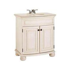 Celeste Vanity - Home Depot  387-917 31'' x 20 1/4'' x 35