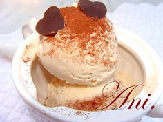 Ani Kitchen: Ice cream cappuccino with refrigerator Coffee Pictures, Frozen Desserts, Popsicles, No Cook Meals, Deli, Food To Make, Recipies, Food And Drink, Sweets