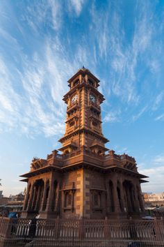 Best cultural places of India: Clock-Tower, [near Sadar Market], Jodhpur, Rajasthan, India