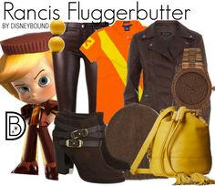 Rancis Fluggerbutter Disneybound - Wreck It Ralph Costumes For Teens, Cute Costumes, Group Halloween Costumes, Estilo Disney, Disney Themed Outfits, Disney Bound Outfits, Cute Disney, Disney Style, Other Outfits