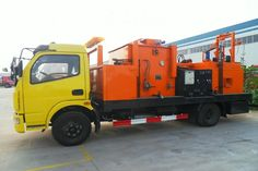 Stable and reliable comprehensive road maintenance vehicles