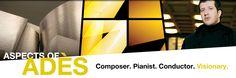 composer/pianist/conductor Thomas Adès