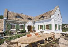 Toszkánához és Provence-hez hasonlítják a Balaton-felvidéket Country Home Exteriors, Country Modern Home, Modern Cottage, Country Life, Classic House, Cottage Homes, Traditional House, Home Deco, Future House