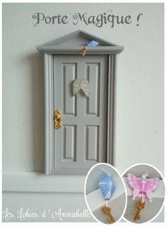 Porte Magique de Lutin ou petite souris des dents de lait : Chambre d'enfant, de bébé par leslubiesdannabelle