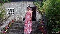 Cristina de boda con el Canotier Sevilla | Malonsilla - Tocados & Artesanía