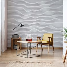 Brayden Studio This wallpaper is a digital latex print with maximum resolution, guarantees colour saturation and stability. It is suitable for allergy sufferers. The material is strong and does not stretch during sticking. Photo Wallpaper, Wall Wallpaper, Textile Texture, Blue Back, Cutting Tables, Wall Murals, Studios, Colours, Stability