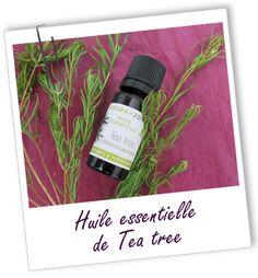 Connue comme antibactérienne majeure à large spectre, l'huile essentielle de Tea Tree (arbre à thé), très utilisée en cas d'infections O.R.L., buccales ou cutanées, s'emploie à merveille sur les boutons d'acné. Tonifiante, elle permet d'éliminer les fatigues passagères.