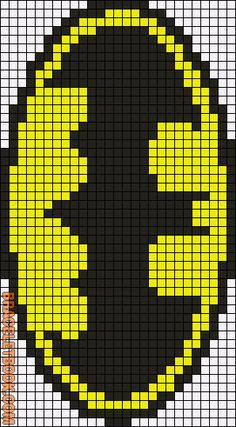 Rotated Alpha Pattern added by maximum pixel graph chart pattern perler bead crochet