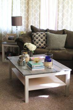 DIY: Farmhouse Coffee Table | TheSubtleStatement.com