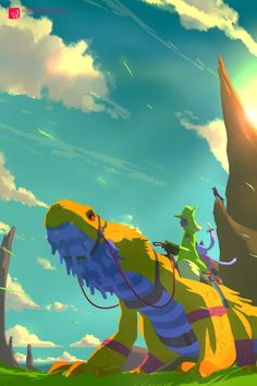 "theartofanimation: "" 加藤オズワルド - https://twitter.com/ozoztv """