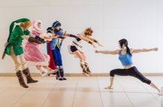 Wii Fit Trainer joins in the fad. | Makankosappo / Hadokening | Know Your Meme