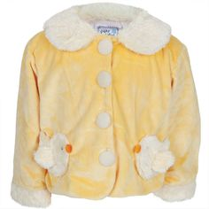 Chick Body Fuzzy Infant Jacket
