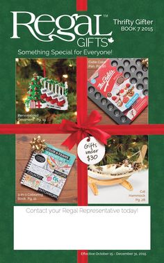 Regal Gifts Thrifty Gifter  Gifts under $30 http://cnastopoulos.shopregal.ca