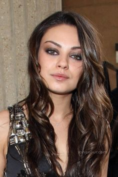 Mila Kunis, and her beautiful eyes..