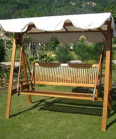 Patio Swing U0026 Canopy #zulily #zulilyfinds