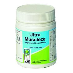 Buy Nutri Ultra Muscleze with FREE UK Shipping - Ultra Muscleze is a high strength magnesium drink, which incorporates malic acid, L-carnit   www.tonicvitamins.com