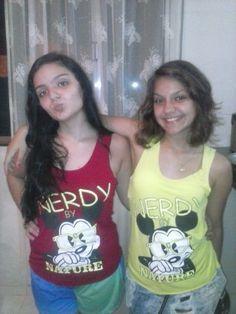 Minhas meninas Leticia e Lorena.