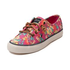 Shop for Womens Sperry Top-Sider Seacoast Floral Boat Shoe in Multi at Journeys Shoes.