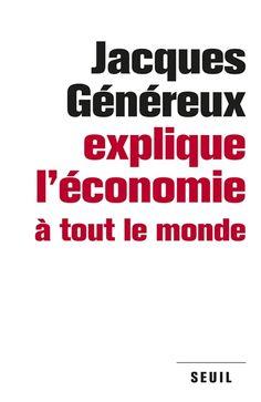 """""""J. Généreux mène une conversation avec un citoyen néophyte qui vit dans un pays en crise depuis des années et cherche à comprendre les mécanismes du marché et des crises, les lois de l'économie, la finance globalisée, les politiques économiques et l'impuissance des gouvernements à surmonter la crise."""" http://nantilus.univ-nantes.fr/vufind/Record/PPN178836877"""