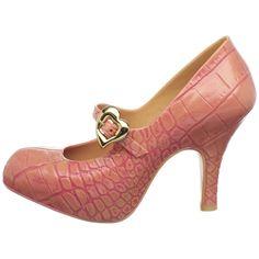 Vivienne Westwood mock croc heels