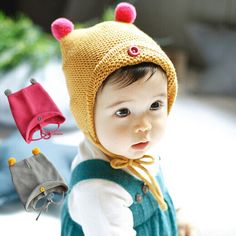 >> Click to Buy << Fashion Autumn Winter Warm Cotton Baby Hat Girl Boy Toddler Infant Kids Caps Brand Candy Color Cute Baby Accessories for 6-24M #Affiliate