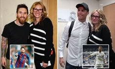 Julia Roberts meets Ronaldo and Messi after Clasico showdown