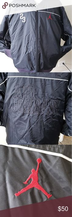 d18b3411a2a4 Men s Jacket Air Jordan 23 size XXL Men s Jacket Air Jordan double size zip  up
