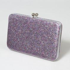 Glitter Hardcase Wallet, $14  www.claires.com