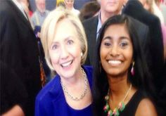 Ms. Sruthi made history when she was provided an opportunity to represent Iowa during roll call votes.  An Indian-American girl Sruthi Palaniappan, 18, a student of Harvard University has become the youngest delegate at the Democratic National Convention (DNC) in Philadelphia, the US. She is the first woman to be nominated by a major political party, with Hillary Clinton as the party's presidential candidate.
