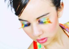 Rainbow Lashes
