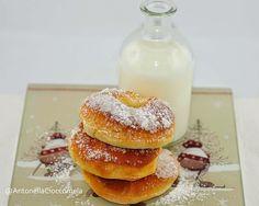 Ciambelle zuccherate al forno