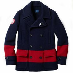 Ralph Lauren(ラルフローレン) ピーコート Polo Ralph Lauren Team USA セレモニーPコート